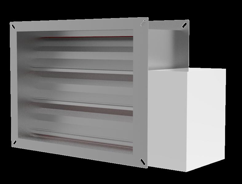 YD400-S.EU Çok Kanatlı Duman Kontrol Damperi (CE, EN 1366-10 Sertifikalı)