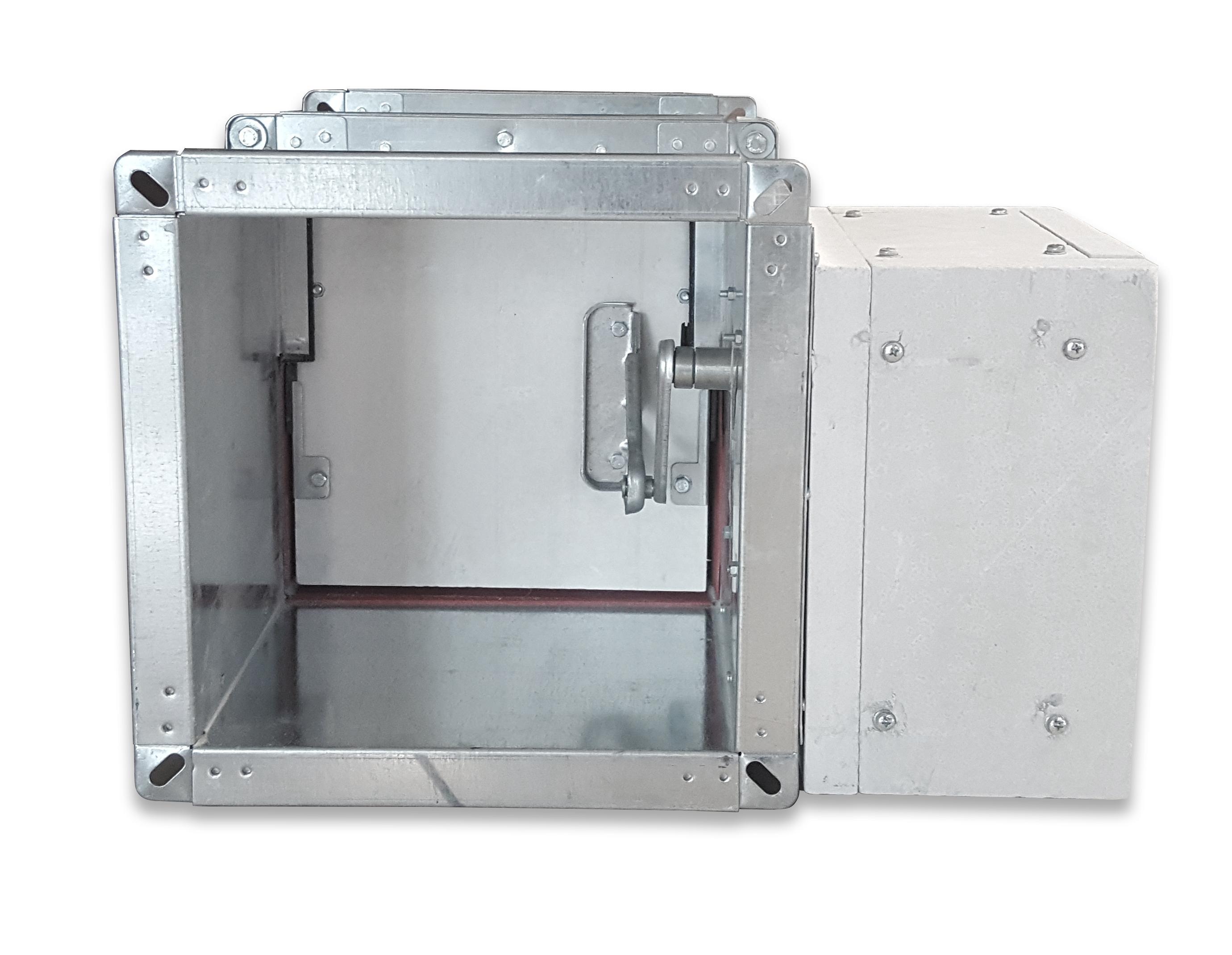 YD500-S.EU Tek Kanatlı Motorlu Duman Kontrol Damperi (CE, EN1366-10 Sertifikalı)